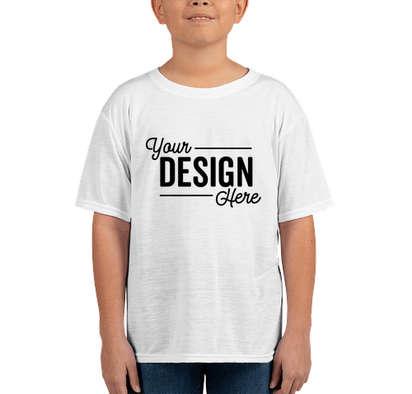 Gildan Youth Soft Jersey Performance Shirt - White