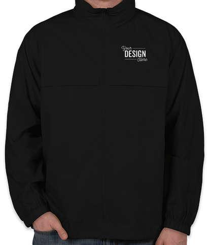 Ultra Club Full Zip Hooded Packable Jacket - Black