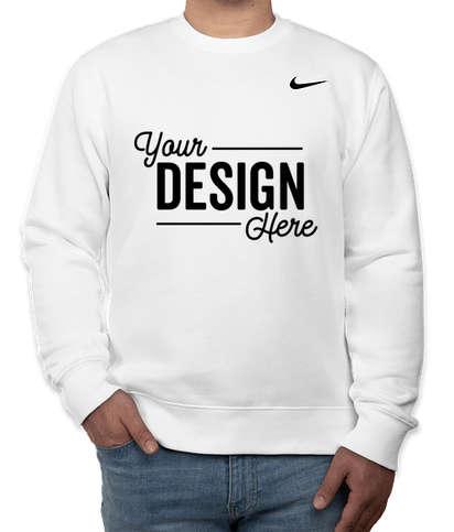 Nike Club Fleece Crewneck Sweatshirt - White