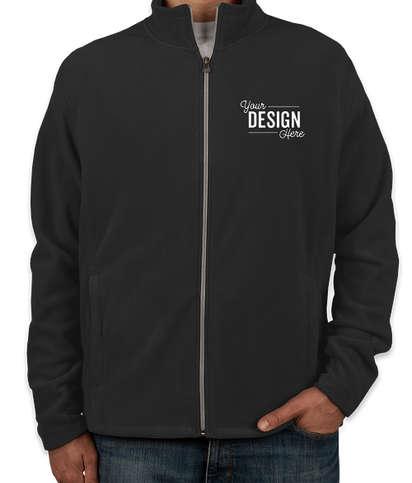 Port Authority Full Zip Microfleece Jacket - Black