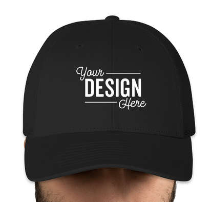 Canada - Richardson Stretch Fit Trucker Hat - Black / Black
