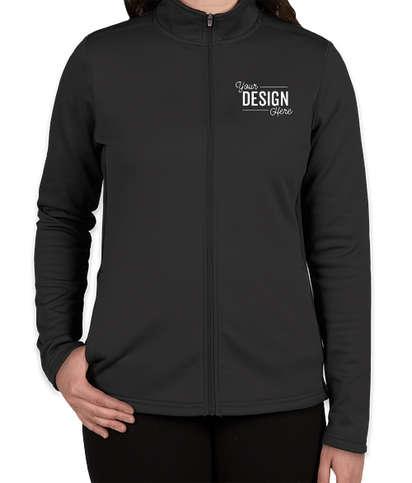 Champion Women's Performance Full Zip Jacket - Black / Black