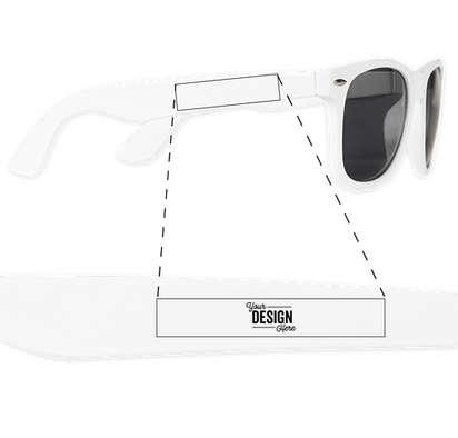 Sun Ray Sunglasses - White
