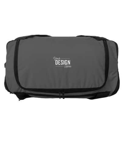 Nike Small Brasilia Duffel Bag - Flint Grey