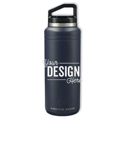 Arctic Zone 32 oz. Titan Thermal HP Copper Vacuum Insulated Water Bottle - Navy