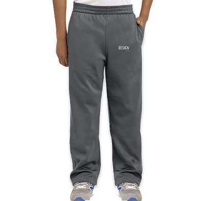 Sport-Tek Youth Sport-Wick Performance Sweatpants - Dark Smoke Grey