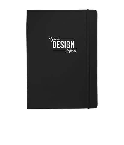 JournalBooks ® Ambassador Large Hard Cover Notebook - Black
