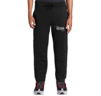 Sport-Tek Sport-Wick Performance Joggers - Black