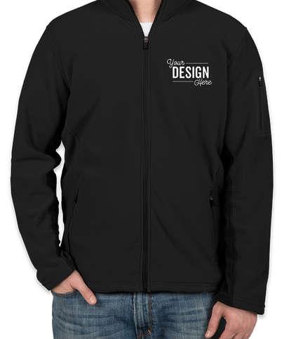 Port Authority Colorblock Full Zip Microfleece Jacket - Black / Black