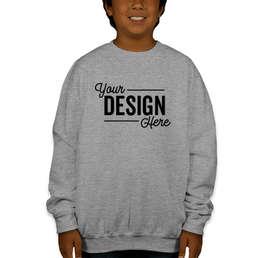 Gildan Youth Midweight 50/50 Crewneck Sweatshirt