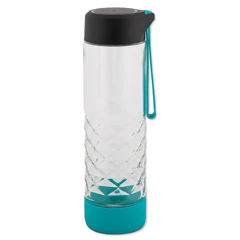 20 oz. Geometric Glass Bottle