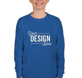 Gildan Youth 100% Cotton Long Sleeve T-shirt