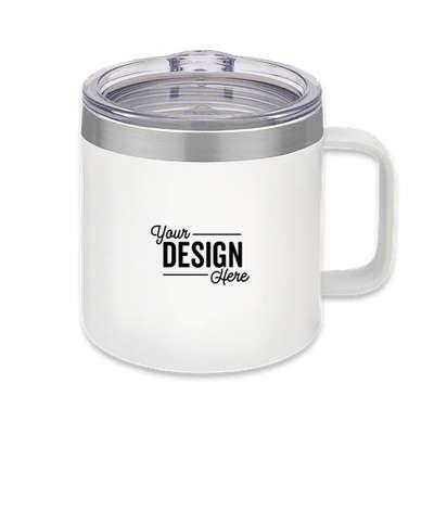14 oz. Urban Peak Trek Vacuum Insulated Camper Mug - White