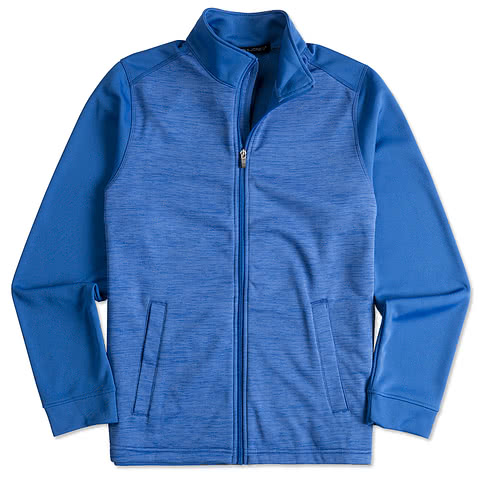 Devon & Jones Newbury Melange Fleece Full Zip Jacket
