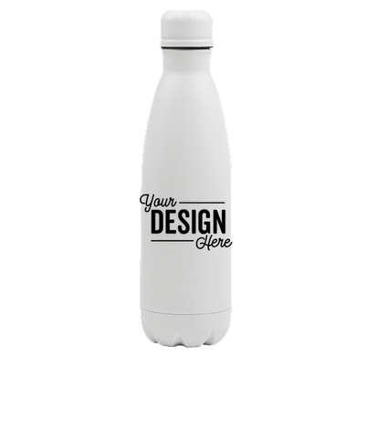 17 oz. Copper Vacuum Insulated Water Bottle - Matte White