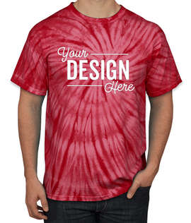 Dyenomite 100% Cotton Tonal Tie-Dye T-shirt