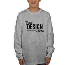 Hanes Youth Authentic Long Sleeve T-shirt
