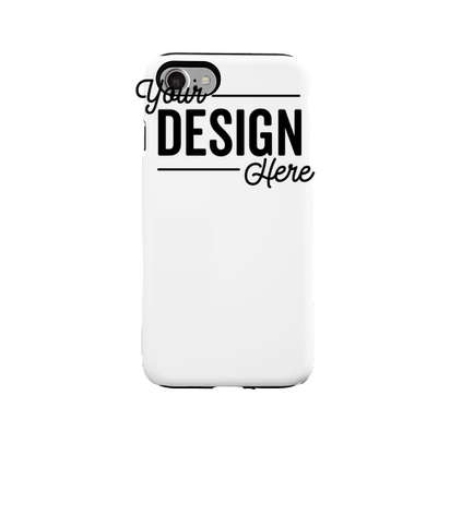Full Color iPhone 7 Tough Phone Case - White