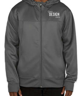 Independent Trading Tech Removable Hood Zip Jacket