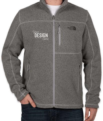 The North Face Sweater Fleece Jacket - Medium Grey Heather