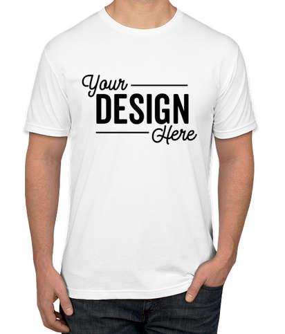 Canada - Next Level Jersey Blend T-shirt - White