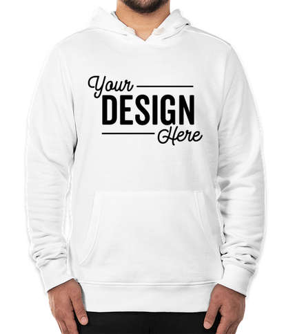 District Re-Fleece Pullover Hoodie - Vintage White