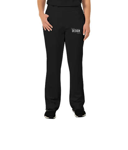 Cherokee Infinity Women's Low Rise Pull-On Scrub Pant - Black