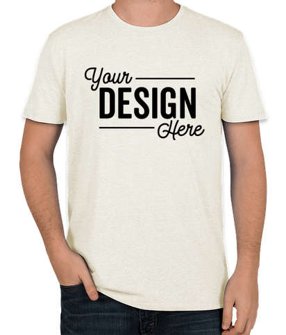 Threadfast Tri-Blend T-shirt - Cream Triblend