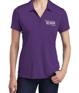 Sport-Tek Women's Competitor Performance Polo - Screen Printed