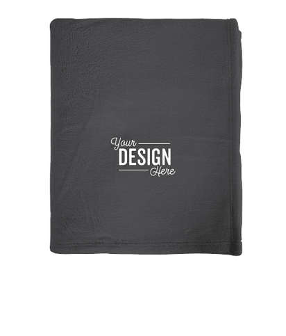 Port Authority Ultra Plush Oversized Blanket - Graphite