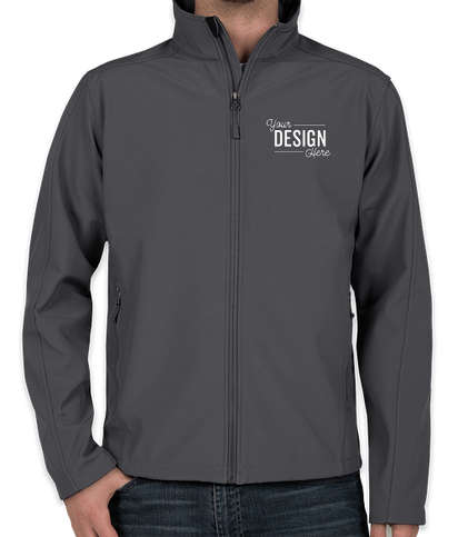 Canada - Coal Harbour Core Fleece Lined Soft Shell Jacket - Graphite