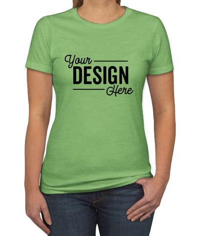 Next Level Women's Slim Fit Jersey Blend T-shirt - Apple Green