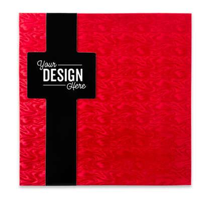 32pc Sea Salt Caramel Gift Box - Red / Black