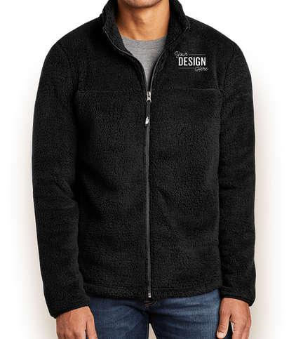 The North Face High Loft Full Zip Fleece Jacket - TNF Black