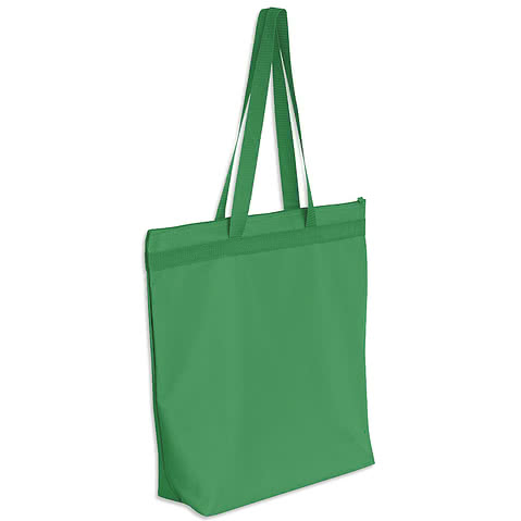 Large Recycled Poly Zippered Tote