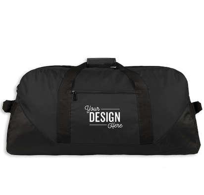 Liberty Series Large Duffel Bag - Screen Printed - Black
