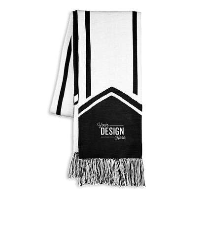 Holloway Homecoming Scarf - Black / White