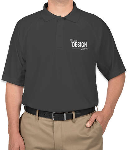 CornerStone Tall Snag-Proof Tactical Polo - Charcoal