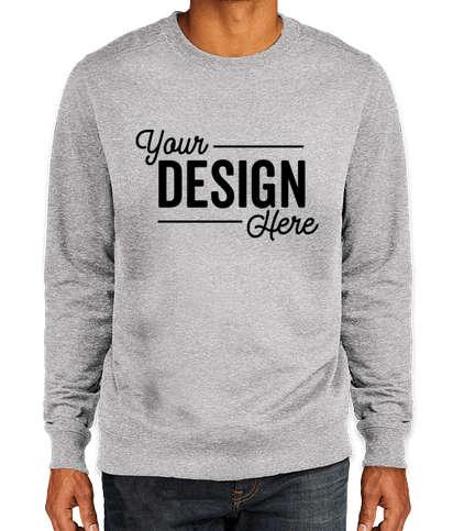 District Re-Fleece Crewneck Sweatshirt - Light Heather Grey