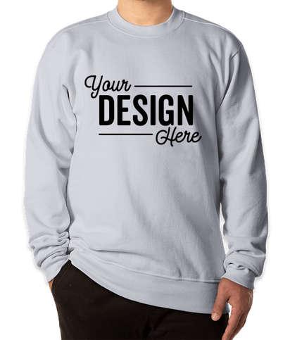 Bayside USA-Made Super Heavy Oversized Crewneck Sweatshirt - PFD