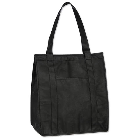 Hercules Zippered Insulated Grocery Tote