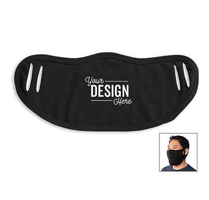 Customized Finished Cloth Face Mask - Black