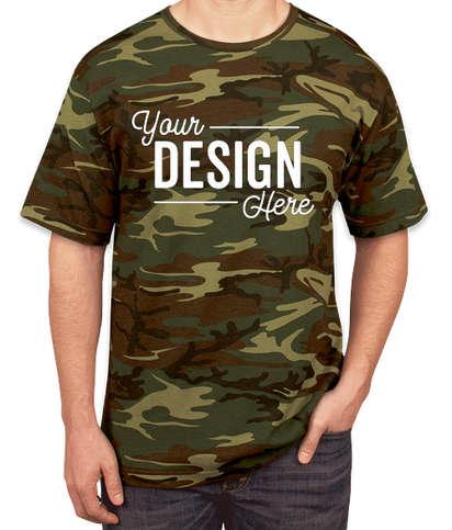 Code Five Camo T-shirt - Green Woodland