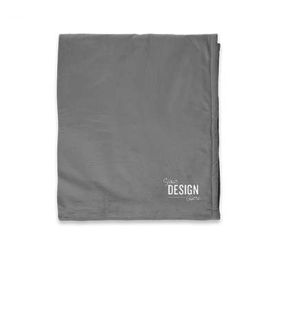 Port Authority Mountain Lodge Blanket - Hearth Grey