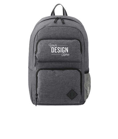 """Graphite Deluxe 15"""" Computer Backpack - Charcoal"""