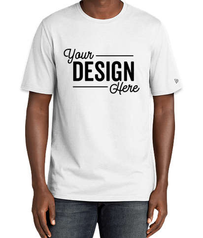 New Era Tri-Blend T-shirt - Fan White Solid