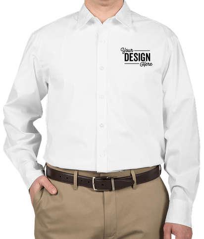 Port Authority Stretch Poplin Dress Shirt - White