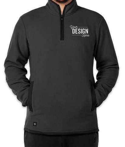 Stormtech Shasta Quarter Zip Fleece Pullover - Graphite / Black
