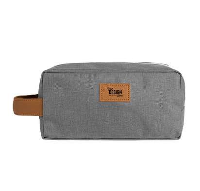 Heathered Toiletry Dopp Kit - Gray