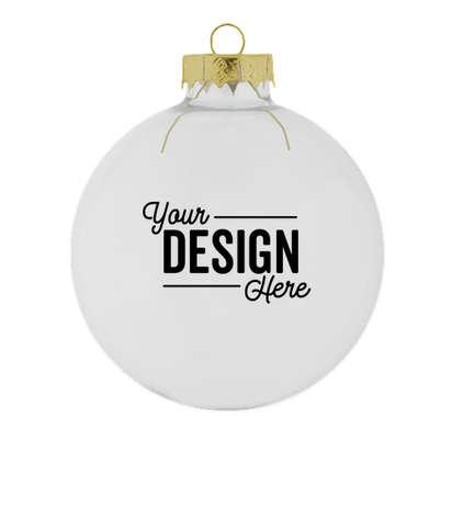 Glass Ball Tree Ornament - Clear